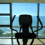 Workout with a million dollar view